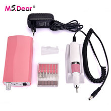 35000RPM Rechargeable Electric Nail Art Drill Manicure Machine Acrylic Nail File Drill Manicure Pedicure Kit Nail Art Equipment