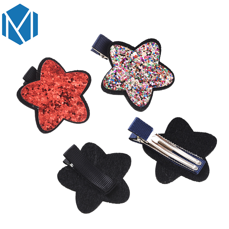 M Mism Newborn Kids Hairclip Cute Childrens Butterfly Shape Headwear Sequins Hair Accessories Hairpins Barrettes Para El Cabello Back To Search Resultsmother & Kids