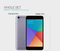 2 Pcs Lot NILLKIN Xiaomi Redmi Note 5a Screen Protector Anti Glare Matte Protective Film Not