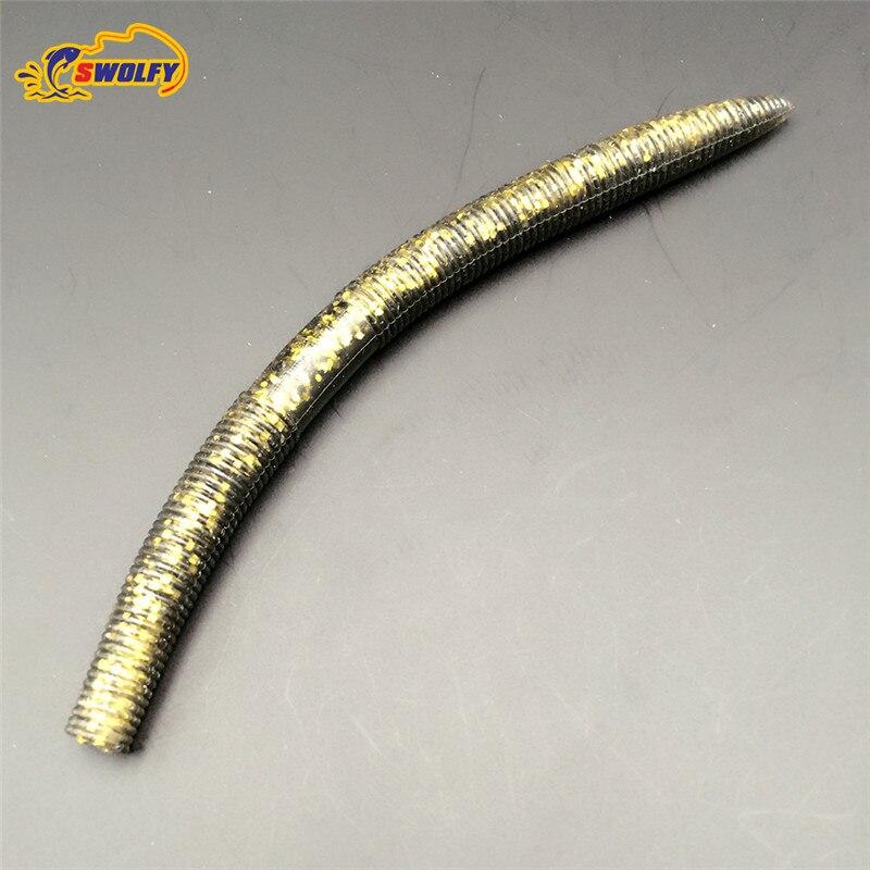 14cm 8 6g earthworm font b fishing b font lure soft bait plastic font b fishing