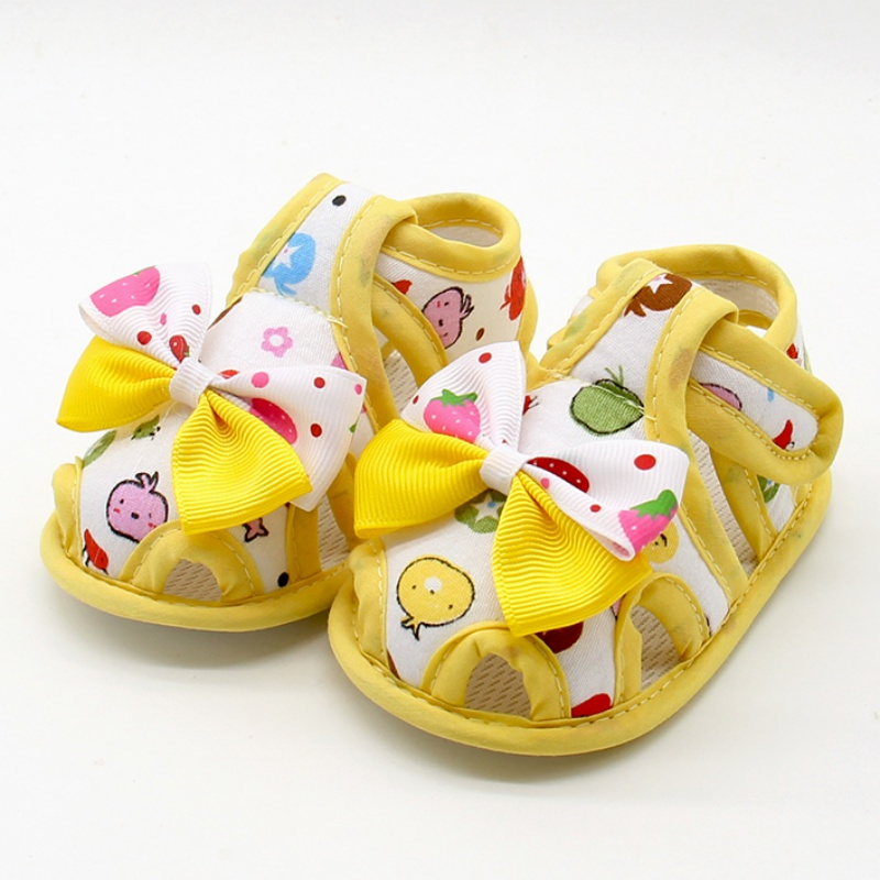 Flower Kids Sandals For Girls Summer Princess Shoes Baby Toddler Children Soft Cotton Fabric Sandal Girl Shoes J2