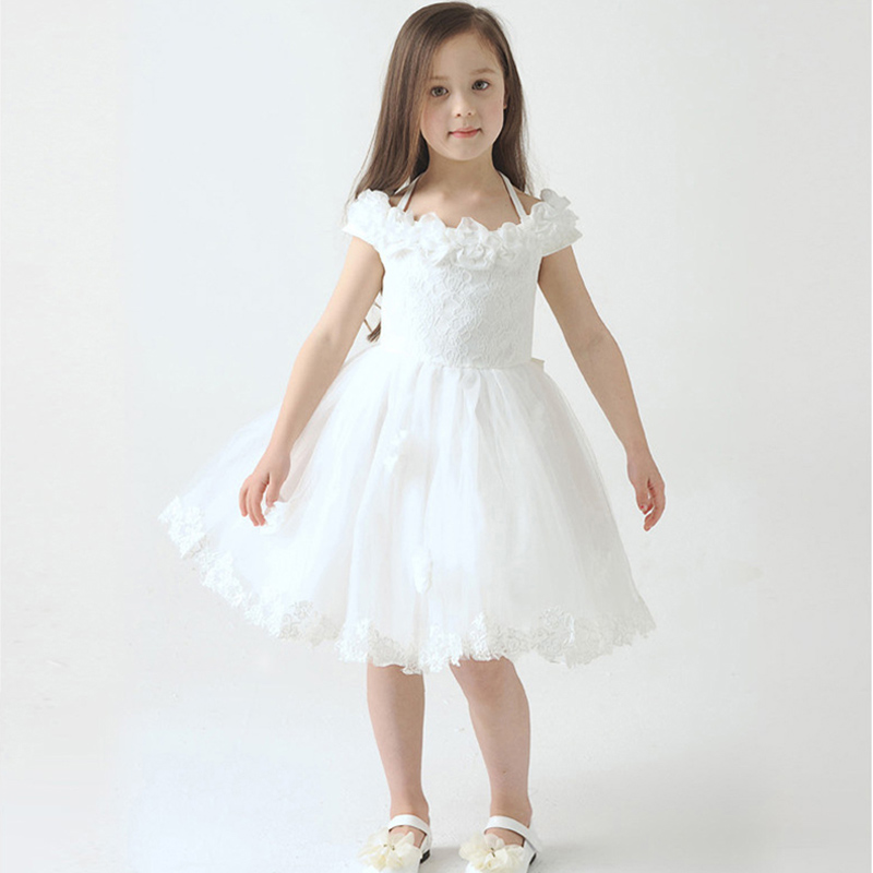 New flower girl dresses children wedding dress for girls for Flower girls wedding dress