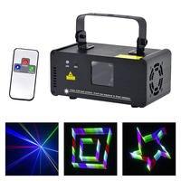 Мини 400 МВт 3D эффект лазерный сканер RGB огни DJ вечерние домашний проектор сценического освещения PRO Беспроводной удаленного Управление 8 CH DMX