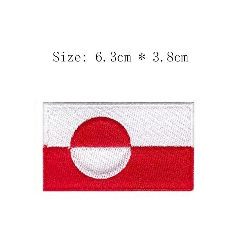 Greenland Flag Vinyl Decal Sticker ** 5 Sizes **