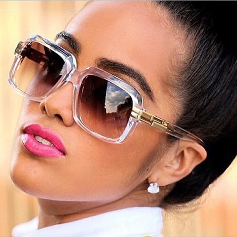 ROYAL GIRL Vintage Women Sunglasses Classic Brand Designer Square Oversize Unisex Glasses UV400 ss089