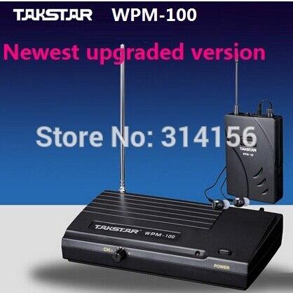 bilder für Verbesserte version Takstar WPM-100 UHF Wireless Monitor System Studio aufnahme monitor, bühnenmonitoring Sender + Empfänger