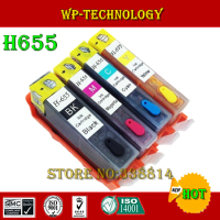 Full Ink Refill cartridge suit for HP655 hp 655 suit for HP3525 hp4615 hp4625 hp5525 hp6520 hp6525 with ARC chip