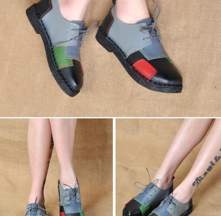 HTB1cN3WRpXXXXXEXFXXq6xXFXXXy - Women's Handmade Genuine Leather Flat Lace Shoes-Women's Handmade Genuine Leather Flat Lace Shoes