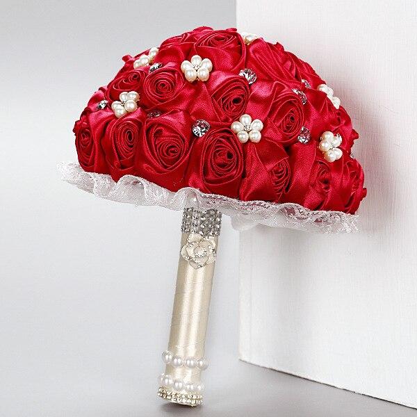 Beautiful Bridal Bridesmaid Flower wedding bouquet artificial flower ...