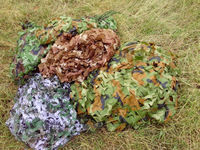 2x4m Woodland Army Camo Net Outdoor Hunting Camping Sun Shelter Car Cover Jungle Desert Military Camouflage Blind