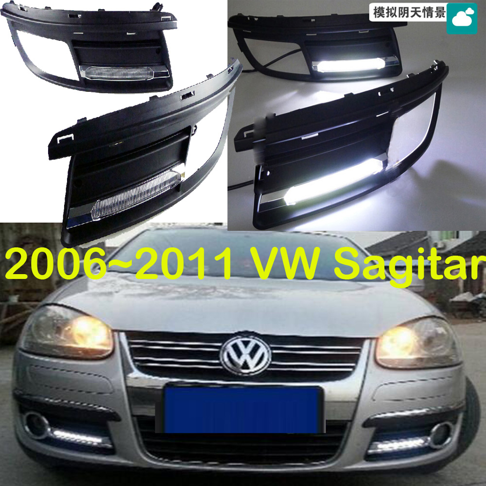 VW Jetta MK5 Daytime light;2006~2011, Free ship!LED,VW Jetta MK5 fog light,2ps/set;China VW Sagitar for vw jetta 5 jetta mk5 2006 2007 2008 2009 2010 2011 new 9 led drl daytime running light fog light fog lamp