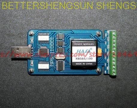 Carte d'acquisition de données USB 24 bits isolée de MPS-110001