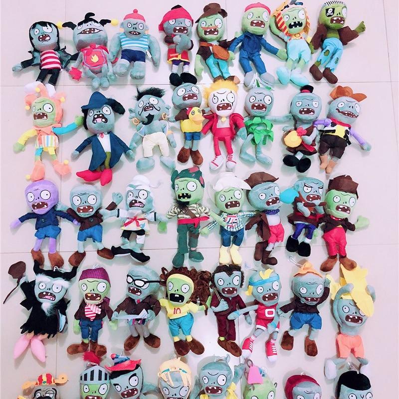30cm Plant Vs Zombies Plant Plush Toys Stuffed Soft Plush Toys For Kids Baby Doll