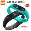 Оригинал Xiaomi Mi Группа 2 Miband Смарт Браслет Браслет OLED Сенсорный Scren Пульс Фитнес-Трекер IP67 Bluetooth 4.0 Новые