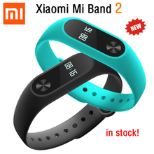 Original Xiaomi Mi Band 2 Miband Smart Wristband Bracelet OLED Touch Scren Heart Rate Fitness Tracker IP67  Bluetooth 4.0 Newest