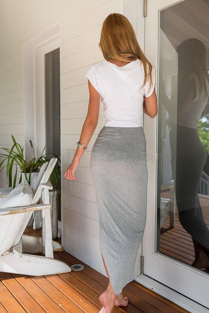 Womens Wrap Asymmetric Drape Skirt Ruched Maxi Side Split Slit Midi Mini Shorts