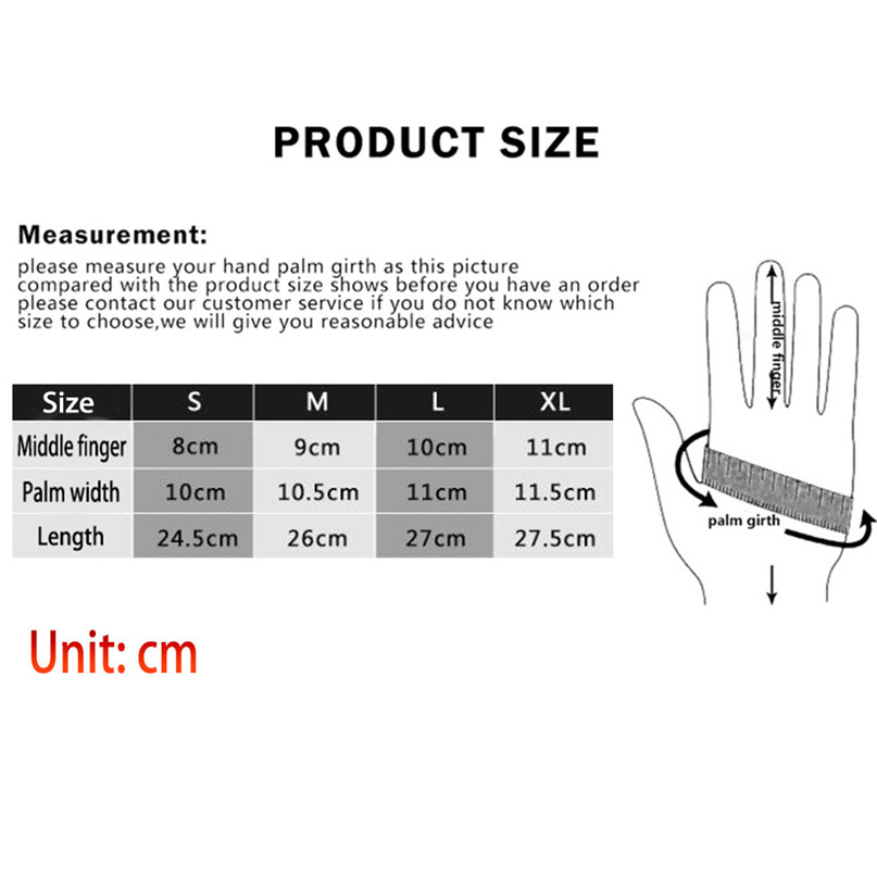 Unisex Winter Gloves Fleece Soft Comfortable Cycling Gloves Outdoor Windproof Climbing Hiking Skiing gloves Man Women #2N07 (11)