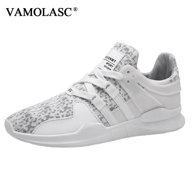 VAMOLASC New Men s Sport Cushioning Stability Air Mesh Running Shoes Breathable Comfortable Outdoor font b