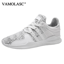 VAMOLASC New Men's Sport Cushioning Stability Air Mesh Running Shoes Breathable Comfortable Outdoor Sneakers