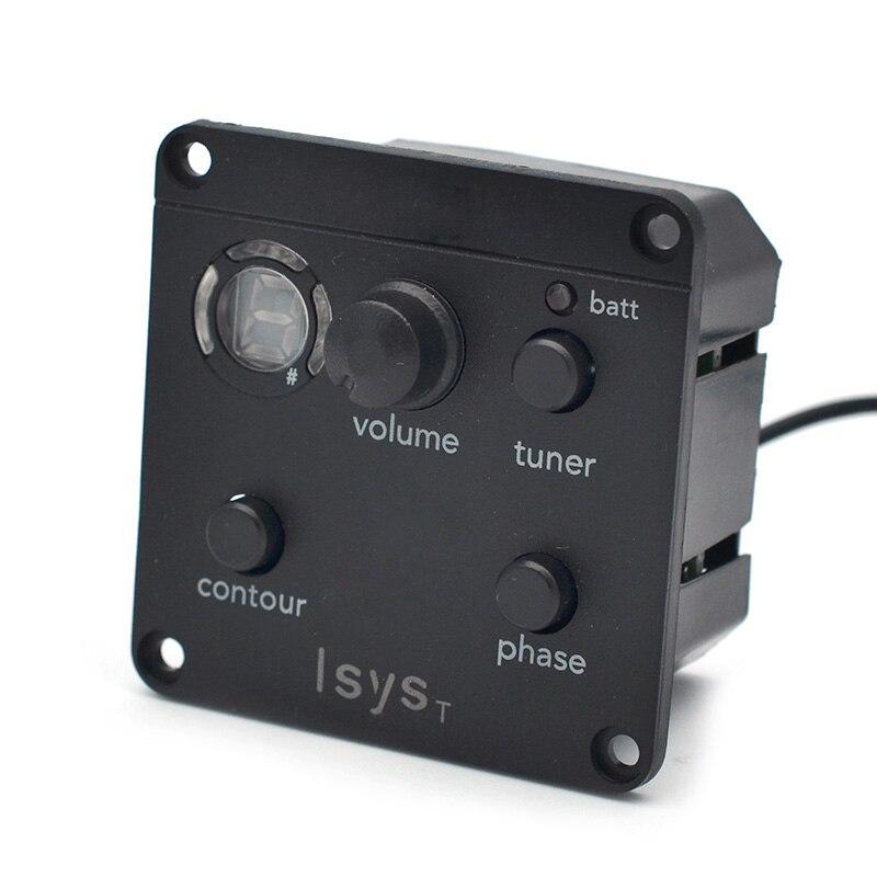com micphone display lcd sintonizador para ukulele violino