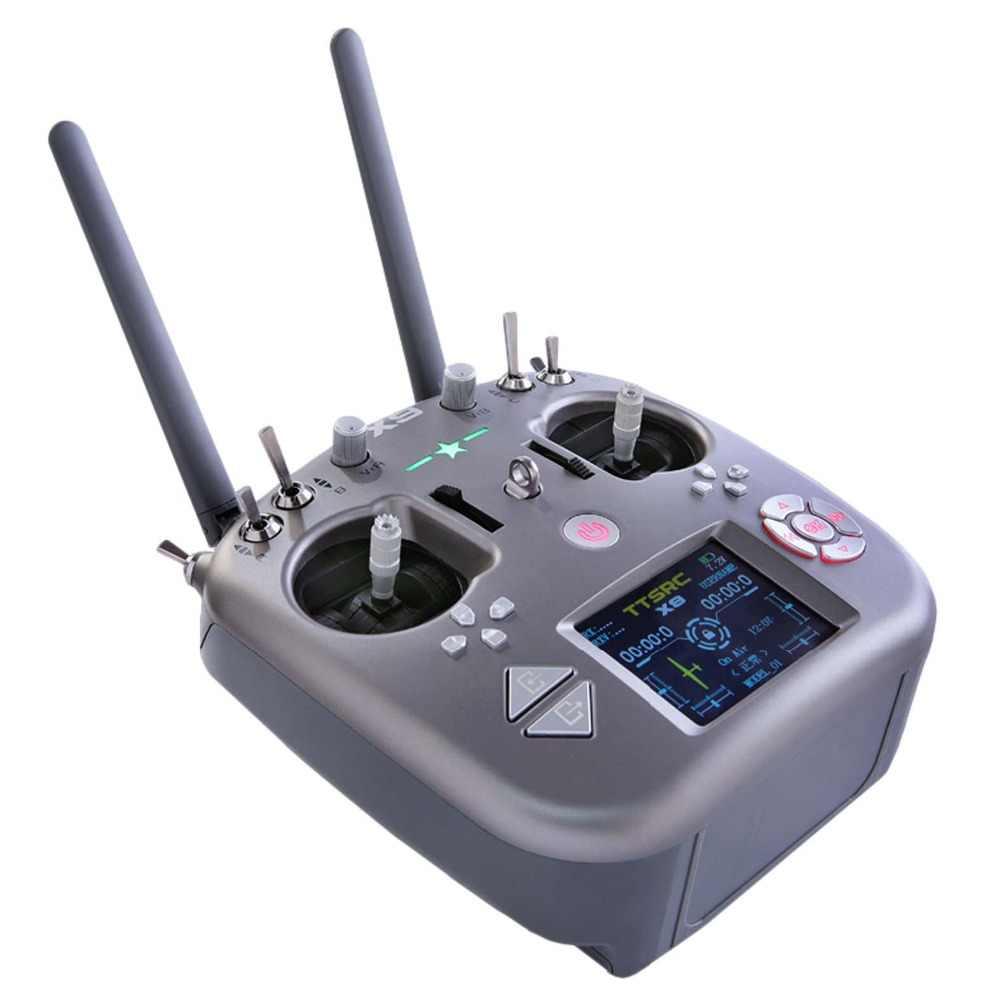 TTSRC X9 Control remoto 2,4G 9CH transmisor receptor R9D para RC avión Quadcopter Drone UAV