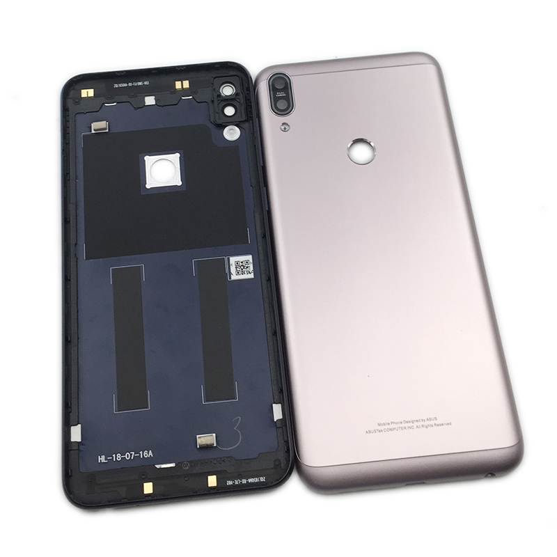 Back Housing Back Cover Case Battery Rear Door For <font><b>ASUS</b></font> ZenFone Max Pro M1 <font><b>ZB601KL</b></font> ZB602KL with Side buttons Camera Glass image