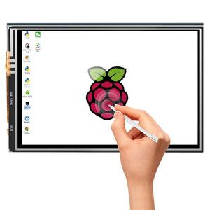 """Image 2 - Screen For Raspberry Pi 3.5"""" Touch Screen LCD Display Monitor with Transparent Protection Case For Raspberry Pi 3 2 Model B"""