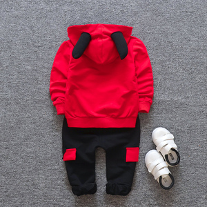 Image 5 - New products Baby clothes Childrens clothing suit  Cotton products for Boys  Three piece sets Spring and autumn Kids sets