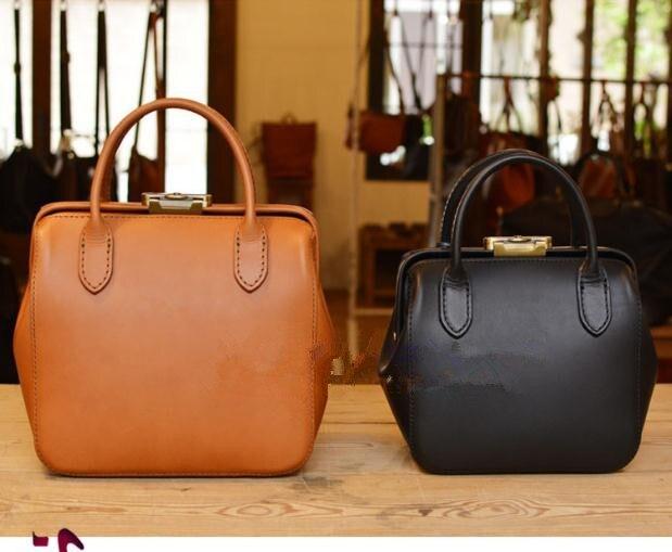 Handbag Drawings Handmade Leather Goods Leather Bag Pattern Drawing DIY Version BDQ-100 Short Distance Travel Bag Paper