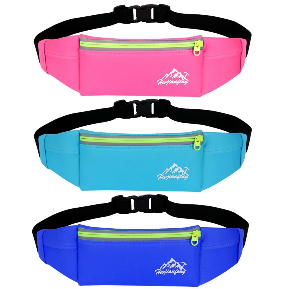 Unisex Running Waist Bags Fanny Pack Waist Belt Pouch Bag Mobile Phone Pocket Purse Case Camping Hiking Keys Holder Sports Bag