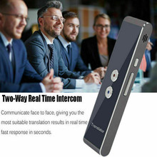 PYMH Smart Voice Translator Portable Two-Way Real Time Multi-Language Translation T8