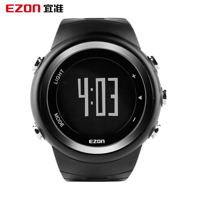 Hot Koop EZON T023 Professionele Sport Running Sport Horloge Stappenteller Calorie Counter Monitor Digitale Horloge voor Mannen