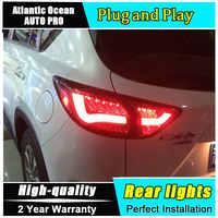 Auto Styling für Mazda CX-5 Rückleuchten Taiwan Sonar für Mazda CX-5 2013-2016 LED Rücklicht Hinten Lampe Nebel licht Für 1 Paar, 4 PCS