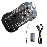 Brand New Car Bluetooth HiFi Bass Power AMP Stereo 220V Digital Amplifier USB TF Remote For