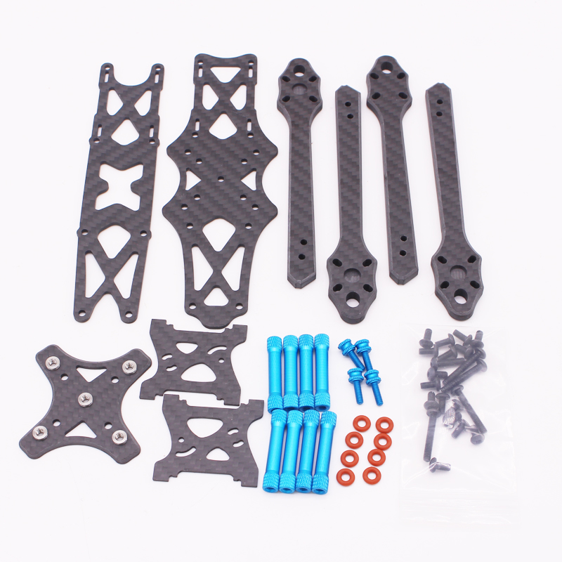 Image 5 - Strech X5 Freestyle FPV Frame 6mm Arm Racing Quadcopter Frame Kit like X5 JohnnyFPV edition for 5 inch prop 22XX motor-in Parts & Accessories from Toys & Hobbies