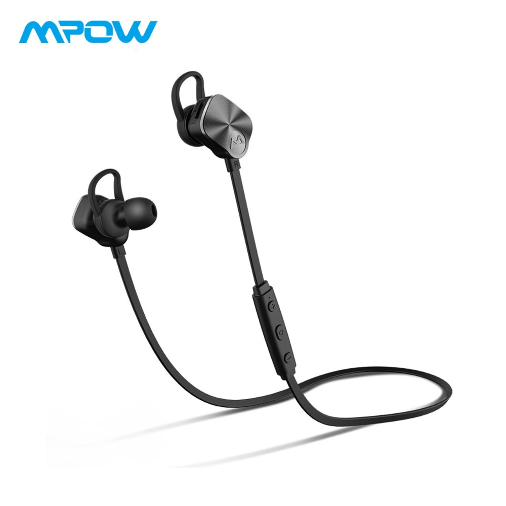 MPOW Coach Wireless Earbuds Bluetooth Headphones Waterproof Earphones With Clear Mic&CVC 6.0 Noise Reduction For iPhone X/8/7/6 burly short sissy bar