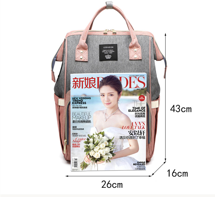 HTB1cN7fa8v0gK0jSZKbq6zK2FXaz LEQUEEN USB Diaper Bag Baby Care Backpack for Mom Mummy Maternity Wet Bag Waterproof Baby Pregnant Bag