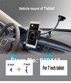 360 градусов вращающийся Кронштейн навигации стенты универсальный держатель Маунт Автомобиля 7 8 дюймов таблетка для ipad mini 4 3 2 samsung asus