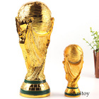 2018 Golden Trophy Cup Soccer Champion Cup Award Football Souvenir Soccer Action Figure Collection Model Toy 13/23.5cm
