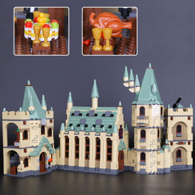 Lepin 16030 Movie Series The Hogwarts Castle Set 1340pcs Building Blocks Bricks Compatible 4842 Educational Toys Model As Gift