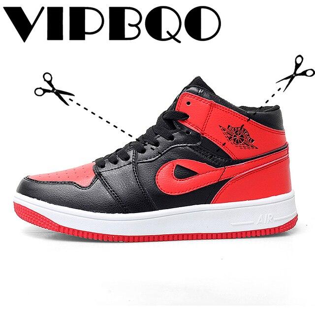 21571f16d1616e VIPBQO Size 38-45 Men New AJ1 Basketball Shoes Comfortable Breathable Sports  Shoes Athletic Mens jordan Shoes Walking Sneakers