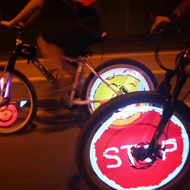 Yq8003 Diy Bike Light Waterproof Cycling 128pcs Led Bicicleta