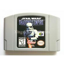 Nintendo N64 Игры Star Wars Тени Империи Видеоигры Картридж Консоли Карты Английский Язык Версия США