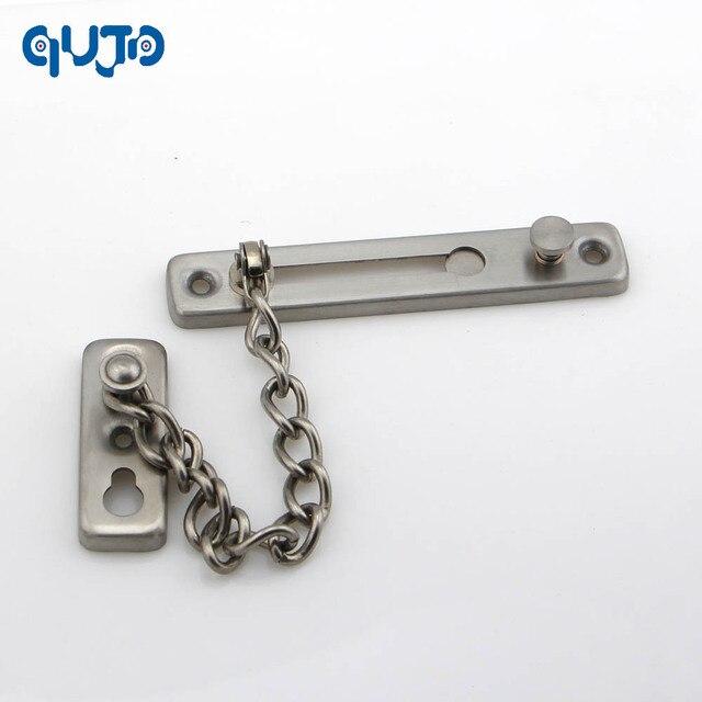 Stainless Steel 304 Door Security Chain door Latch Slide Bolt ...