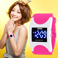 SKMEI Unisex Digital Watch Moda Casual Relógios Relogio masculino Marca LED Azul Geléia de Silicone Relógio De Vestido Relógios De Pulso Das Mulheres