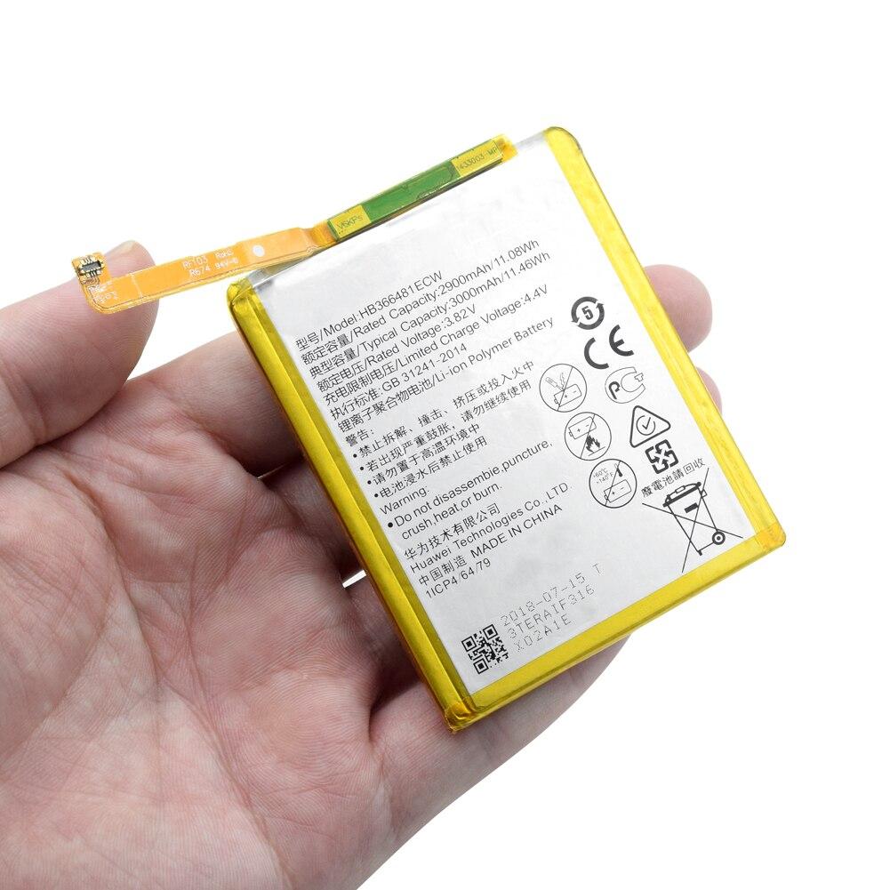 3000 mAh Bateria Para Huawei GR3 HB366481ECW 2017/Honor 8 9 Lite/P8 lite 2017/P9 Lite 2017 pra-lx1 pra-la1 PRA-L100 PRA-TL10
