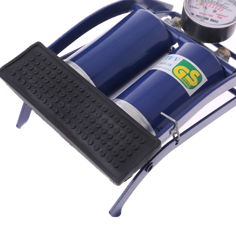 Heavy Duty Single Barrel Cylinder Air Inflator Foot Pump Car,Bicycle,Bike Tyre