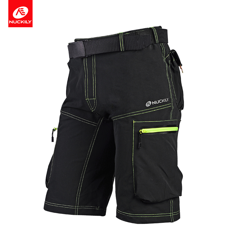 NUCKILY Verão MTB Shorts dos Esportes dos homens de Bicicleta Ciclismo Shorts Jersey MK005