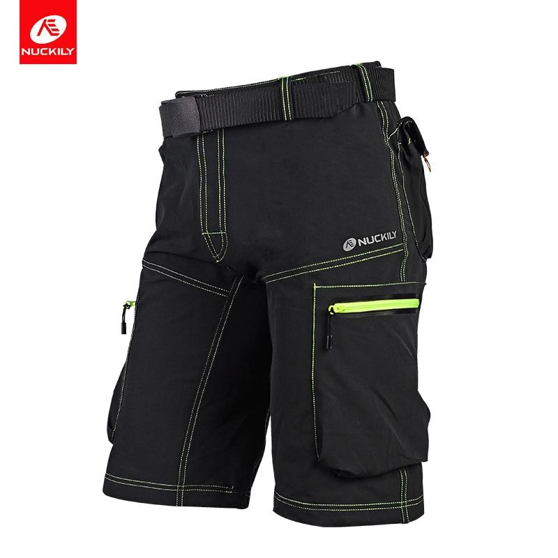 NUCKILY Summer MTB Shorts Men s Sports Bike Cycling Shorts Casual Jersey MK005