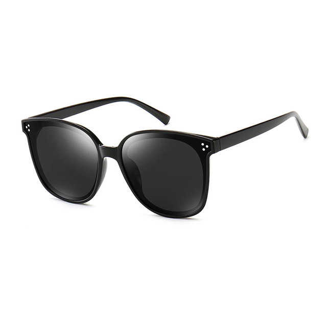 HUHAITANG Luxury Square Oversized Sunglasses Women Fashion High Quality Sun Glasses Brand Designer 2019 Vintage Ladies Sunglass 2